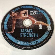 Insanity Max 30 · Tabata Strength • Beachbody · Replacement Disc