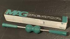 """Nikken Magcreator Magnetic Back Roller Massager Green 23"""" Long"""