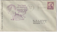 """UNITED STATES  1933: cachet """"First Voyage"""" cover · S.S.""""Washington""""  (1505)"""