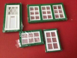 model windows Door Dolls House 1/16