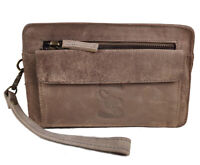 Neu Leder Herren Tasche Handgelenktasche Businesstasche Handtasche für Männer