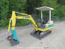 Komatsu PC07-1 Mini Hydraulic Excavator 13HP Diesel Rubber Tracks Backfill Blade