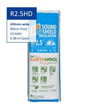 R2.5 HD | 430mm Knauf Earthwool® Acoustic Wall Insulation Batts