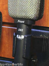 CAD D82 Figure-of-Eight Ribbon Speaker Cabinet Microphone Authorized Dealer !!!!
