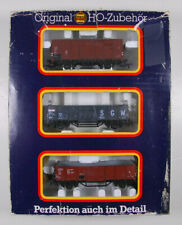 80's PIKO Set of 3 Freight Cars Scale H0 5/0725/002