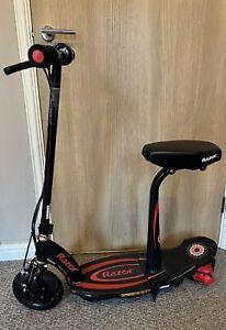 Razor PowerCore E100s Electric Scooter - Black/Red