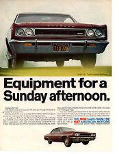 1967 AMC REBEL SST 343 ~ ORIGINAL PRINT AD