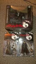 McFarlane Sleepy Hollow Headless Horseman Box Set of 4, Ichabid, Crone, & Walken