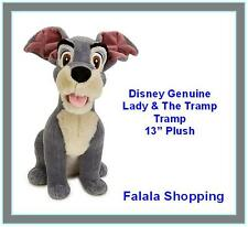 "FALALA GENUINE DISNEY TRAMP DOG TOY PLUSH 13"" - SOFT & CUTE"