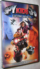 Spy Kids 3 Game Over DVD, 2004, 3-D Version FREE SHIPPING U.S.A.