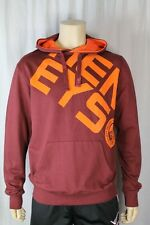Henleys Project Deluxe Wine/Burgundy Hoodie Size Medium  (H4)
