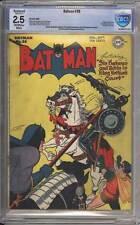 Batman # 36  In King Arthur's Court !  CBCS 2.5 scarce Golden Age book !