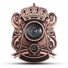 Retro Adjustable 180° Door Viewer Peep Sight Hole Peephole & Door Bell Security
