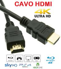 Cavo HDMI 4K 2K Ultra HD da 0,5 a 15 metri High speed TV Monitor Audio Video