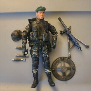 Elite Force Army Desert Ops Mortar Crew 1:18 3 3/4 inch - complete #2