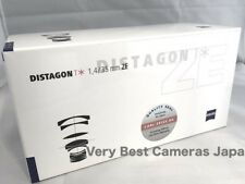 New  Zeiss DISTAGON T * 35mm f1.4 ZE Lens for CANON EF Mount Made in Japan