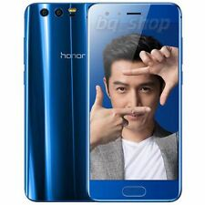 "Huawei Honor 9 64GB/4GB Blue Dual SIM 5.15"" 20MP Android 7.0 Phone By FedEx"