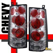 03 04 05 06 GMC Savana Chevy Express Van Chrome Tail Lights Lamps 1 Pair