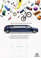 2015 Honda HR-V HRV Original Advertisement Print Art Car Ad J548