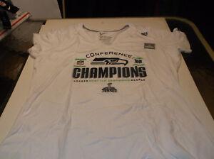 Seattle Seahawks Womens' NFL Nike  2013 NFC  Champion  shirt   XXL