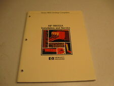 Manual, HP 98032A Installation/Service Series 9800 Desktop Computers