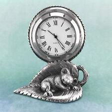 Sleeping Baby Australian Souvenir Koala Clock Australiana Gift, Australian Made