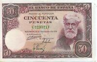 50 pesetas 1951 Santiago Rusiñol @@ Sin Circular @@