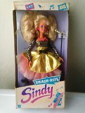 Sindy Smash Hits Fashion Doll Hasbro 1989 Hard to Find - New in damaged box