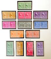 Scott US # 839-851 - 1939 Rotary Press Coil Stamps; Mint Hinged; OG; CV=$67.80