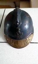 coque de casque adrian génie Bleu horizon 1er type soudé 14/18