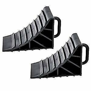 2 x wheel chocks with handles Brake Chocks Trailer Caravan