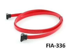 19inch (1 Meter) SATA-II Right Angle to SATA-II Right Angle Data Cable, FIA-336