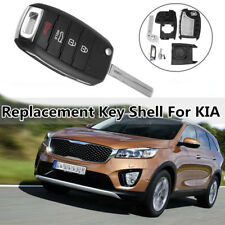 4 Buttons Remote Key Fob Case Shell For KIA Sorento Soul Optima Carens Sportage