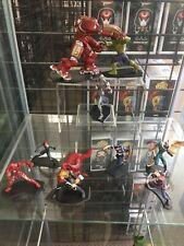 Avengers Thor Iron Man Hulk Hulkbuster Vision Metal Miniature Figures Set Of 9