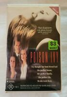 Poison Ivy VHS 1992 Erotic/Thriller Katt Shea Roadshow Home Video [Ex-Rental]