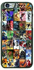 Marvel Comics Super Heroes Poster Phone Case Cover For iPhone Samsung LG Google