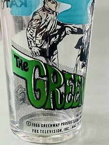 Rare Green Hornet Glass, 1966 Greenway Productions