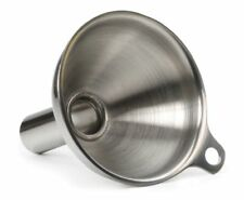 RSVP Spice Herb Funnel  Small 18/8 Stainless Steel for Spice Herb Jar Can  New