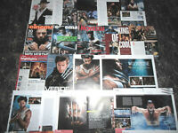 HUGH JACKMAN  172 TEILEPARTS  CLIPPINGS  LOT   12/16