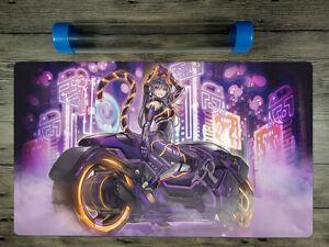 Yu-Gi-Oh! I:P Masquerena Trading Card Game CCG Duel Custom Playmat Free BestTube