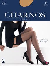 Charnos 24/7 2 Pair Pack 15 Denier Sheer Stockings