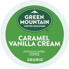Green Mountain Coffee Caramel Vanilla Cream, Keurig K-Cup Pod, Light Roast, 48ct