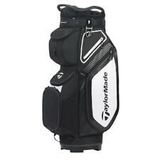 TaylorMade Golf Pro Cart 8.0 Bag (Black/White/Charcoal)