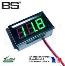 Voltmetre haute precision grande plage 5 - 120V LED VERT large range voltmeter
