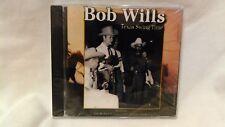Rare Bob Wills Texas Swing Time NEW 2003 Black Cat                        cd4145
