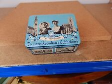 Vintage Middleburg netherlands tin Tourist Views Social history .12x9x5cm