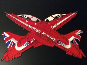 XL RAF Red Arrows Official Licensed  Embroidered XL Back Patch Badge