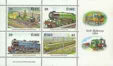 Timbres Trains Irlande BF5 ** lot 24587