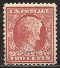 U.S. #369 Mint - 1909 2c Lincoln on Bluish Paper ($150)