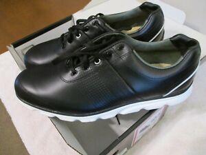 New? Black/White Footjoy Dryjoys Casual 53697- B/W- Size 10.5 M